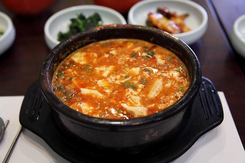 Image Gallery soondubu recipe