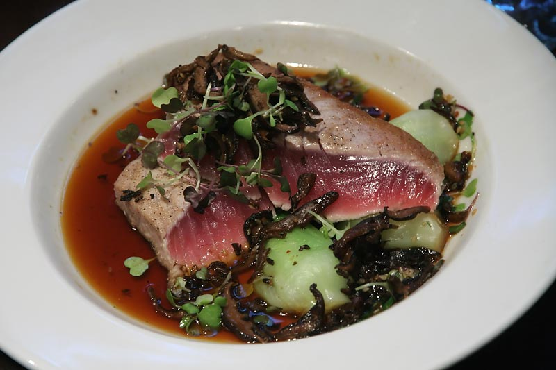 Moroccan Spiced Seared Rare Tuna Recipe — Dishmaps